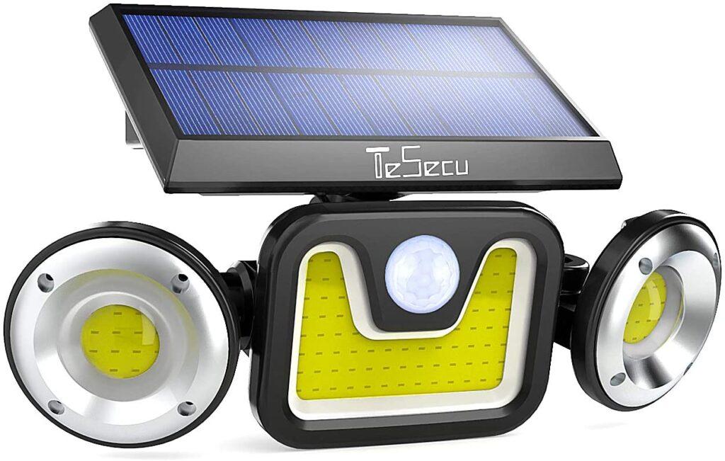 Luce solare led esterno TESECU 3 luci